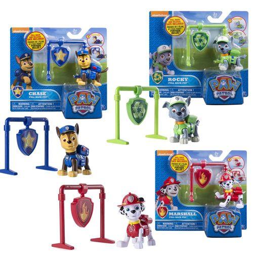 Deluxe Spiel-Figuren mit Rückzug zur Auswahl   Paw Patrol   Rettungshunde – Bild 1
