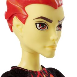 Heath Burns | Mattel CHW72 | Monsterfest | Monster High Puppe – Bild 2