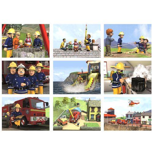 XXL Puzzle Box | 9 in 1 | Feuerwehrmann Sam | Legespiel | Jumbo – Bild 2
