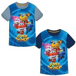 Super Wings - Kinder T-Shirt - Heldenhafte Flieger - Größe 86 - 116