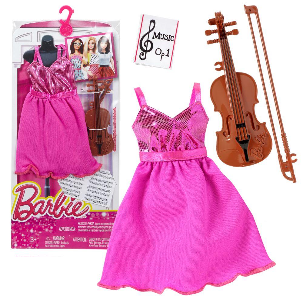 kleidung musician barbie mattel dnt94 mode set puppen kleidung barbie kleidung zubeh r. Black Bedroom Furniture Sets. Home Design Ideas