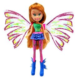 Winx Club - Sirenix Mini Magic Puppe - Fee Flora mit Verwandlungsfunktion – Bild 2