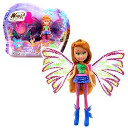 Winx Club - Sirenix Mini Magic Puppe - Fee Flora mit Verwandlungsfunktion – Bild 1