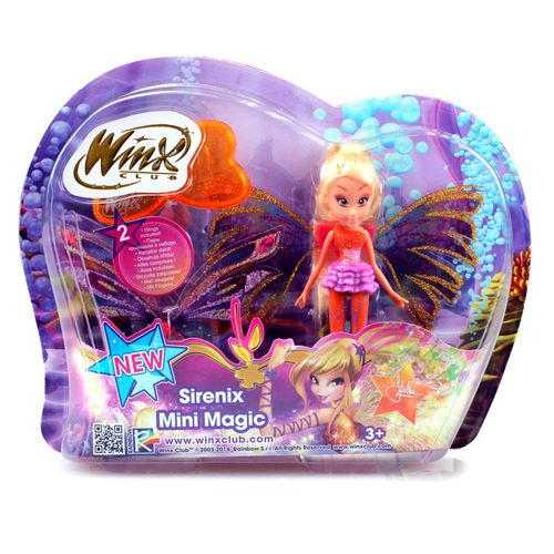 Stella | Sirenix Mini Magic Puppe | Winx Club | Fee mit Verwandlung | 12 cm – Bild 3