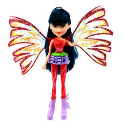 Winx Club - Sirenix Mini Magic Puppe - Fee Musa mit Verwandlungsfunktion – Bild 2