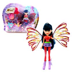 Winx Club - Sirenix Mini Magic Puppe - Fee Musa mit Verwandlungsfunktion – Bild 1