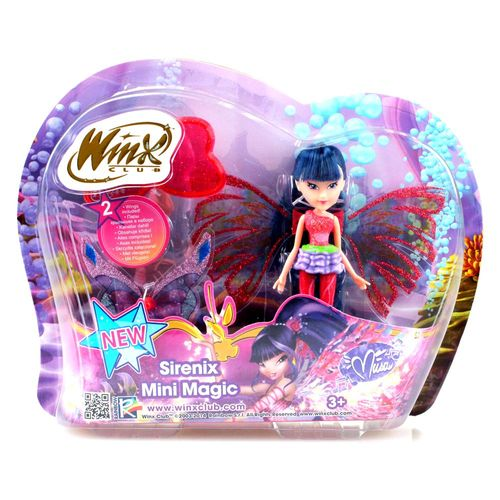 Musa | Sirenix Mini Magic Puppe | Winx Club | Fee mit Verwandlung | 12 cm – Bild 3