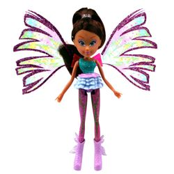 Winx Club - Sirenix Mini Magic Puppe - Fee Layla mit Verwandlungsfunktion – Bild 2