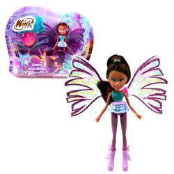 Winx Club - Sirenix Mini Magic Puppe - Fee Layla mit Verwandlungsfunktion – Bild 1
