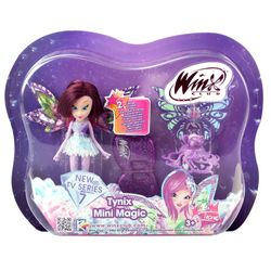 Winx Club - Tynix Mini Magic Puppe - Fee Tecna mit Verwandlungsfunktion – Bild 3