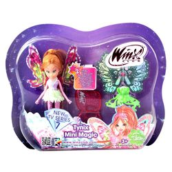 Winx Club - Tynix Mini Magic Puppe - Fee Flora mit Verwandlungsfunktion – Bild 3