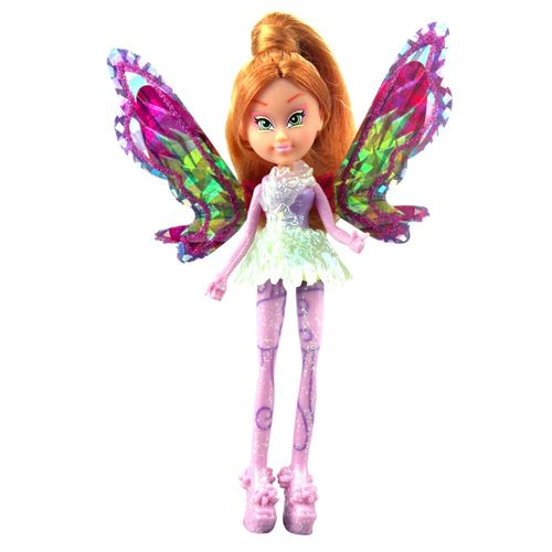 Flora | Tynix Mini Magic Puppe | Winx Club | Fee mit Verwandlung | 12 cm – Bild 2