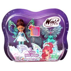 Winx Club - Tynix Mini Magic Puppe - Fee Layla mit Verwandlungsfunktion – Bild 3