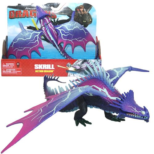 Skrill Blitzangriff Drachen | Action Spiel Set | DreamWorks Dragons
