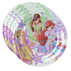 Winx Club - Butterflix - Set Party Teller Becher Servietten Partygeschirr – Bild 2