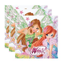 Winx Club - Butterflix - Set Party Teller Becher Servietten Partygeschirr – Bild 4
