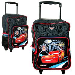 Disney Cars - Trolley Rucksack Kinder Fast as Lightning 35 x 28 x 14 cm – Bild 1
