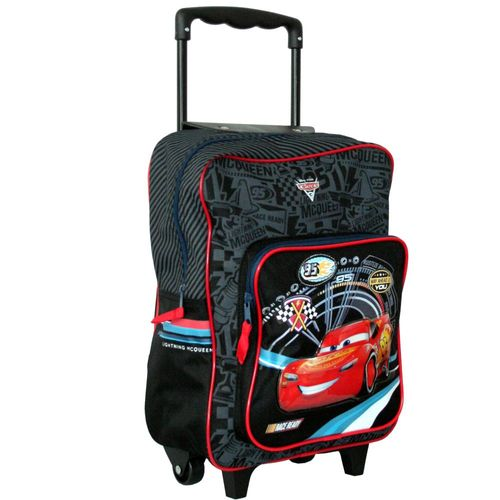 Trolley Rucksack für Kinder | 35x28x14 cm | Disney Cars 3 | Fast as Lightning – Bild 2