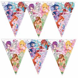 Winx Club - Butterflix - Party Geburtstag Wimpel Kette Girlande 29 x 360 cm