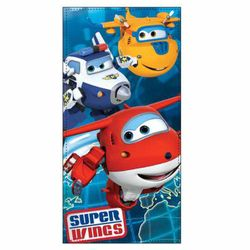Super Wings - Kinder Badetuch Strandtuch Handtuch Team 70x140 cm