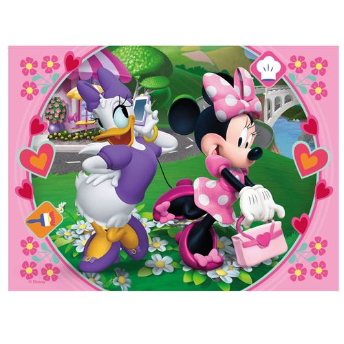 Kinder  Puzzle Box | 4 in 1 | Disney Minnie Maus | Ravensburger – Bild 5