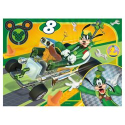 Micky Maus - Puzzle Box 4 in 1 Mickey Mouse - 12, 16, 20 und 24 Teile – Bild 4