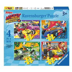 Kinder Puzzle Box | 4 in 1 | Micky Maus | Ravensburger | Legespiel