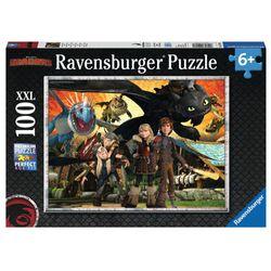 Puzzle XXL | 100 Teile | DreamWorks Dragons | Ravensburger | Drachenfreunde 001