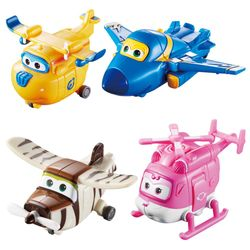 Flugzeuge Jerome, Donnie, Dizzy, Bello | Super Wings | Set Mini Transform