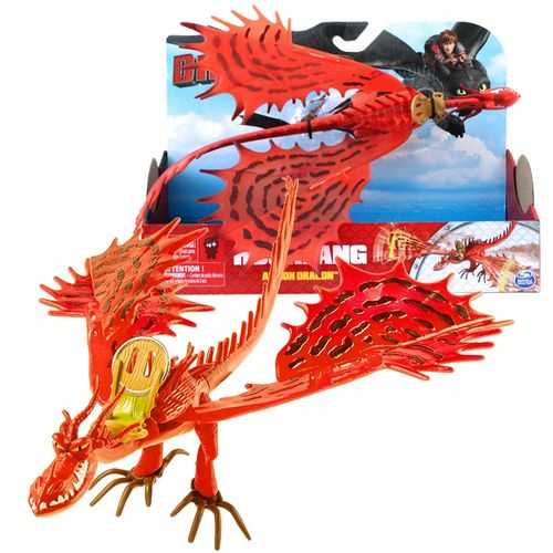 Hakenzahn Wing Attack | Action Spiel Set | DreamWorks Dragons | Hookfang