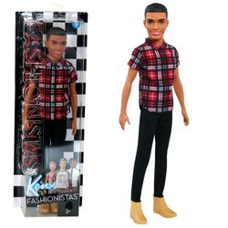 Plaid on Point Ken | Barbie | Mattel FNH41 | Slim Fashionistas 9 | Puppe