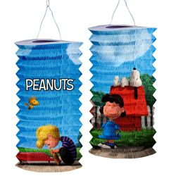 Die Peanuts - Kinder Zuglaterne Laterne Lampion Snoopy, Charlie & Lucy