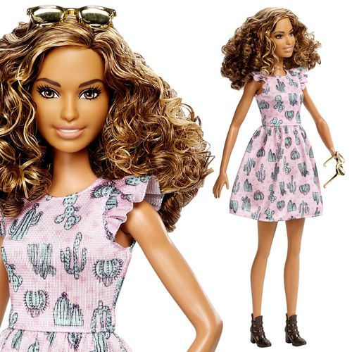 Pink Dress Barbie | Mattel DYY97 | Tall Fashionistas 67 | Puppe | Barbie – Bild 3
