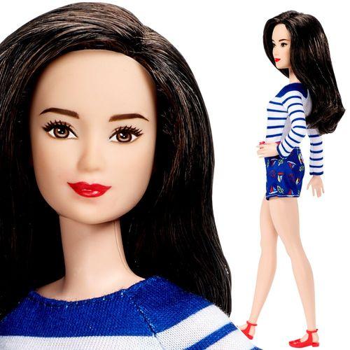 Marine-Top Barbie | Mattel DYY91 | Petite Fashionistas 61 | Puppe | Barbie – Bild 3