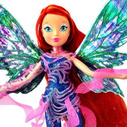 World of Winx - Dreamix Fairy Puppe - Fee Bloom magisches Gewand – Bild 2