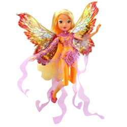 World of Winx - Dreamix Fairy Puppe - Fee Stella magisches Gewand – Bild 3