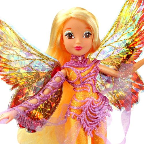 Stella | Dreamix Fairy Puppe | Winx Club | World of Winx | Magisches Gewand – Bild 2