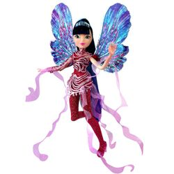 World of Winx - Dreamix Fairy Puppe - Fee Musa magisches Gewand – Bild 3