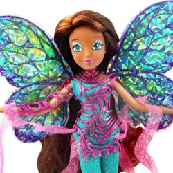 World of Winx - Dreamix Fairy Puppe - Fee Layla Aisha magisches Gewand – Bild 2