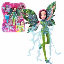 World of Winx - Dreamix Fairy Puppe - Fee Tecna magisches Gewand – Bild 4