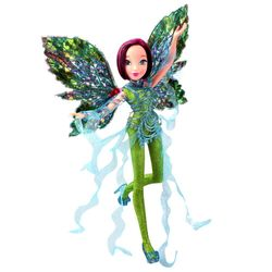 World of Winx - Dreamix Fairy Puppe - Fee Tecna magisches Gewand – Bild 3