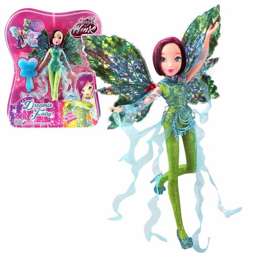 Tecna | Dreamix Fairy Puppe | Winx Club | World of Winx | Magisches Gewand – Bild 4