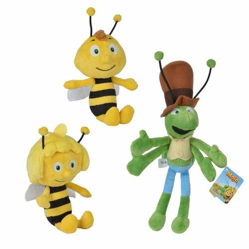 Auswahl Plüsch-Figuren 20 cm | Biene Maja | Softwool Kuscheltiere | Simba 41001 – Bild 1