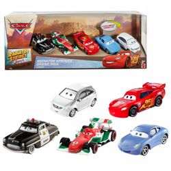 Radiator Springs | 5 Autos Gift Pack | Disney Cars | Cast 1:55 | Mattel DWW38