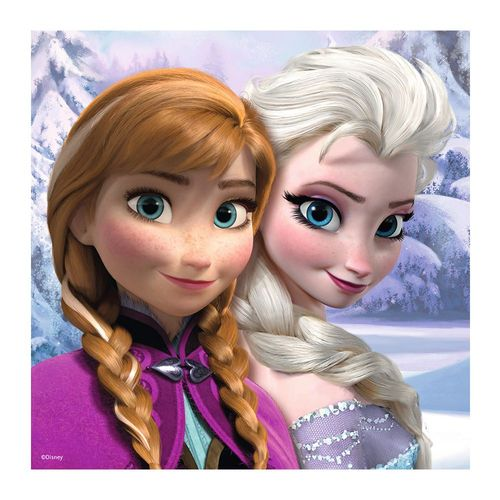 Puzzle und Memory Box | Disney Eiskönigin | Frozen | Kinder Spielesammlung – Bild 4