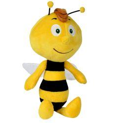 Willi Plüsch-Figur 30 cm | Biene Maja | Softwool Kuscheltier | Simba 41003 001