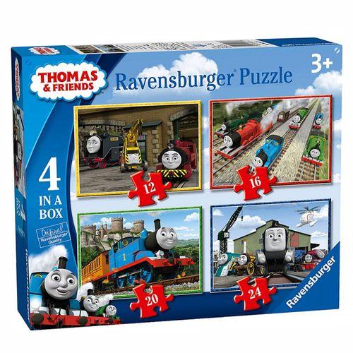 4 in 1 Kinder Puzzle Box | Ravensburger | Thomas & seine Freunde – Bild 1