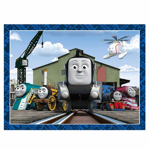 4 in 1 Kinder Puzzle Box | Ravensburger | Thomas & seine Freunde – Bild 5