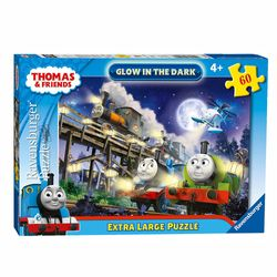 Glow in the Dark | Puzzle 60 Teile | Ravensburger | Thomas & seine Freunde