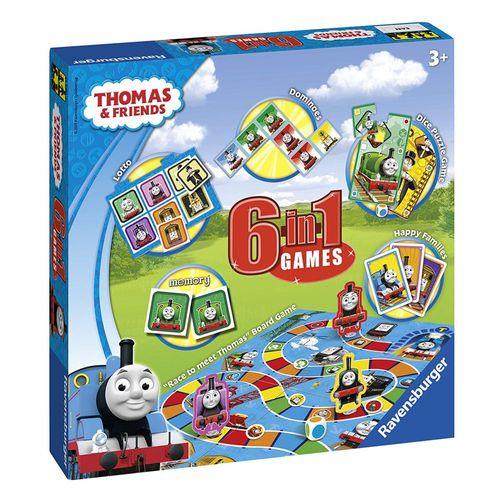 6 in 1 Spiele Box | Ravensburger | Thomas & seine Freunde – Bild 1